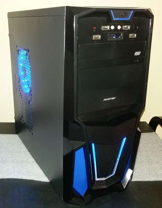 PC CPU AMD A6 6400K, 6ta Gen. video HD8470D. Semi GAMER. Disco 500GB, RAM Fury 4GB. EXCELENTE Estado. OFERTA 430 Soles