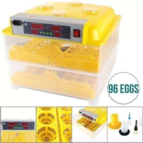 Incubadora Automáticas de 96 huevos
