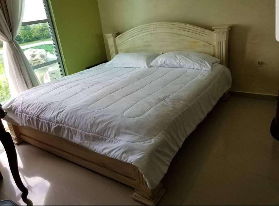 Vendo <strong>cama</strong> de Madera de Cedro de 2 por 2