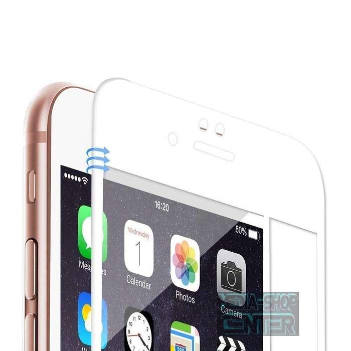 Vidrio Templado CurvoiPhone 6 6 Plus Cover Full Curvo 5d 6d