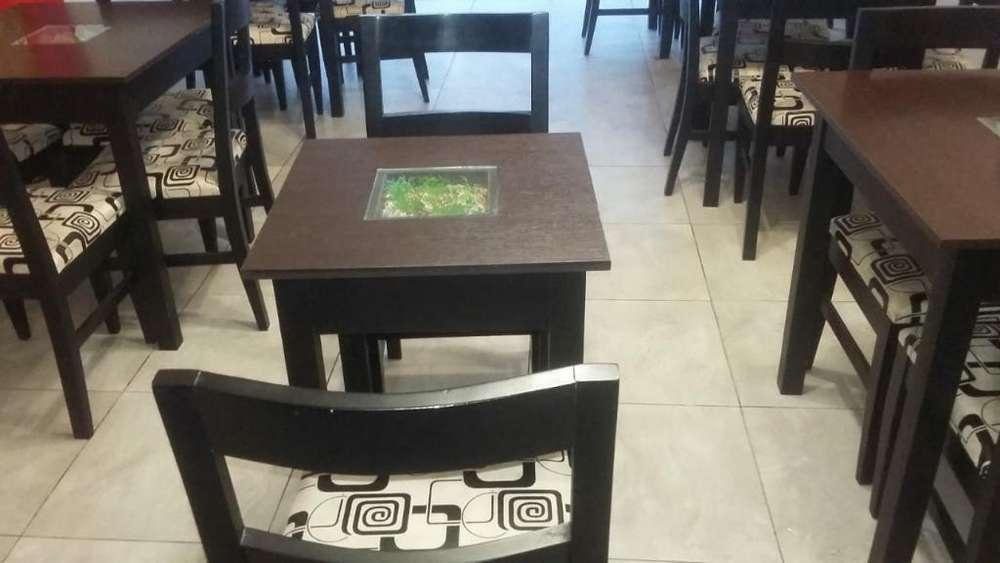 Mesas para Restaurante Y Parrilla
