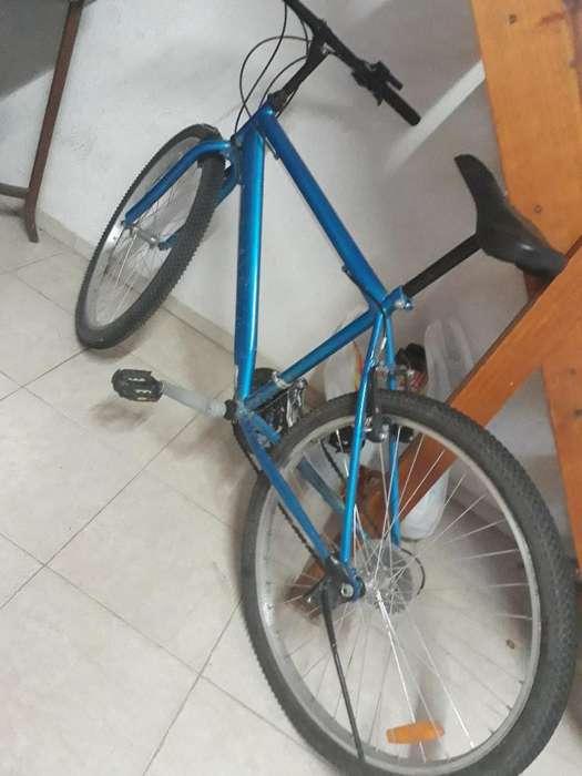 Bicicleta Rodado 26 Color Azul Vendo