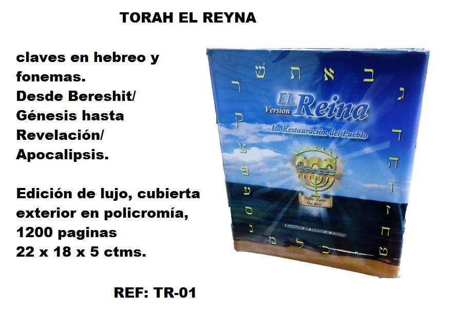 TORAH EL REYNA CON LOS NOMBRES RESTAURADOS