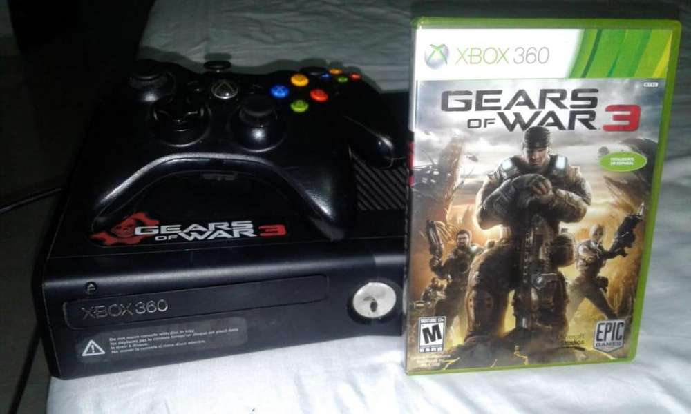 Xbox 360 chip 3.0 (Juega online) Gears of War 3 original