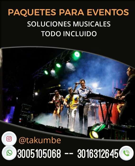 Orquesta Takumbé Increible Show en Vivo