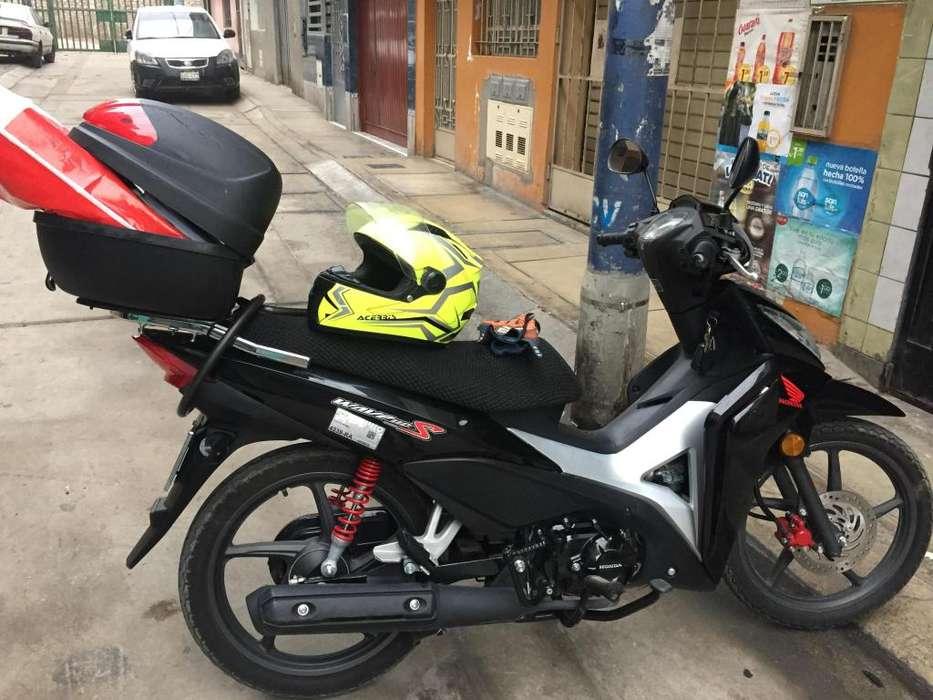 Moto Honda Wave 110 S modelo 2019 fabricacin 2018