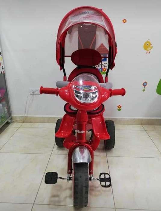 Triciclo Paseador Rojo