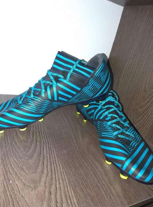 adidas Performance Nemeziz 17.3 Fg Para Hombres, Azules