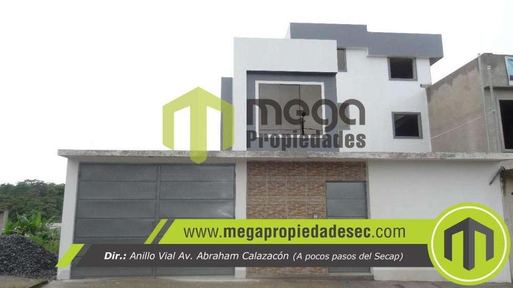 casa nueva de losa, via quininde, by pass, san luis, santo domingo.