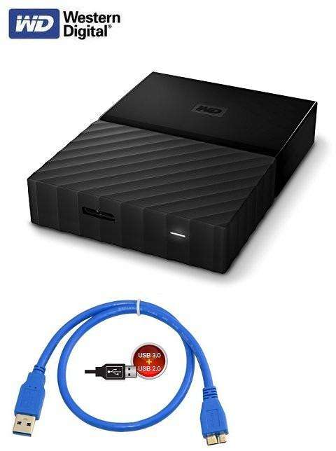 DISCO DURO EXTERNO 2TB WESTERN DIGITAL MY PASSPORT USB 3.0