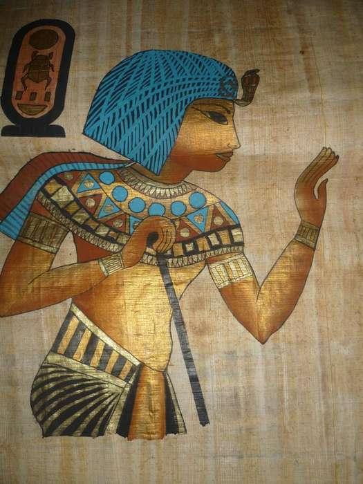 ARTE ANTIGUO EGIPTO. PAPIROS ORIGINALES