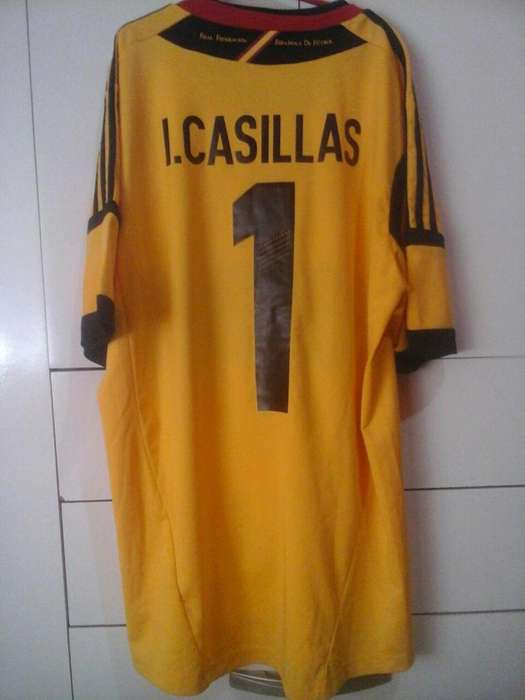 Camiseta España Casillas