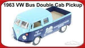 VOLKSWAGEN BUS DOUBLE CAB PICKUP SCALE