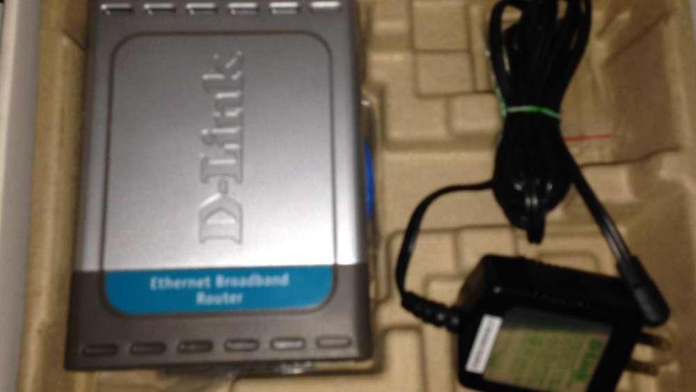 DI604 INTERNET SERVER 4 LAN PORT totalmente nuevo en caja
