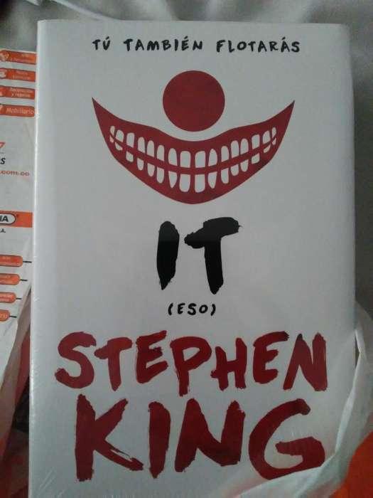 Libro It Stephen King (nuevo).