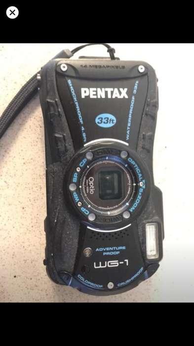 Camara de Fotos Pentax Optio Wg1 14Mp