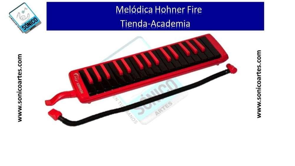 Melódica Hohner De 32 Teclas Fire