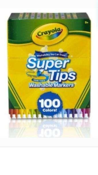 Crayola Super Tips de 100