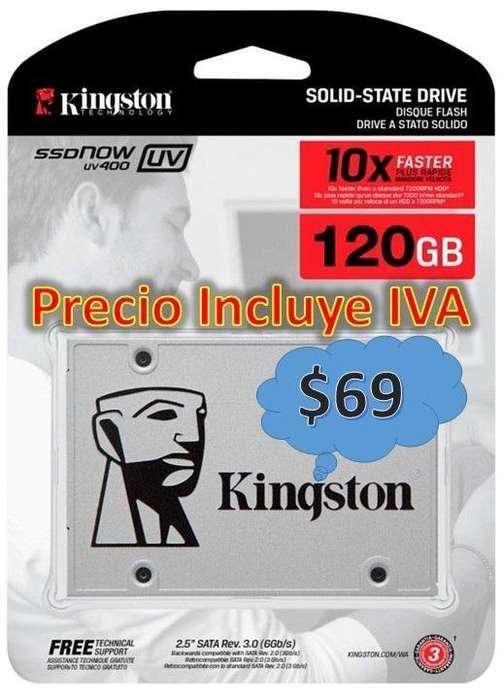 Disco Duro Solido Ssd 120gb 240gb Interno Nuevos PRECIO INCLUYE IVA