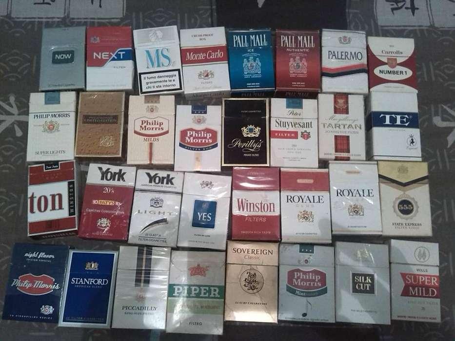 Coleccion Cajas Cigarrillos