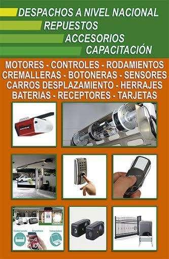 control para puertas de garajes