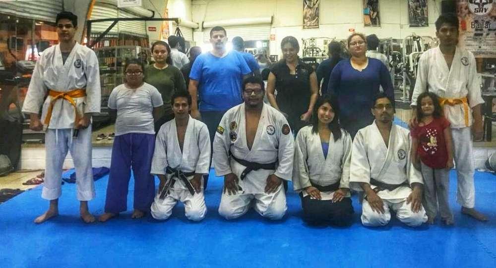Academia de <strong>arte</strong>s Marciales Ju Jitsu