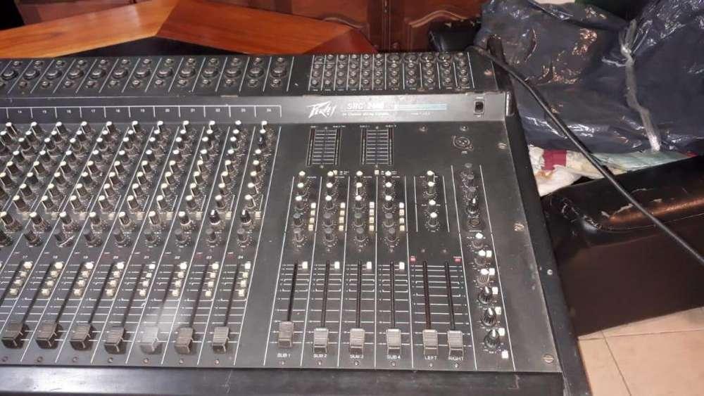 Consola Peavey SRC-2400 24-canales Vendo/Permuto URGENTE!