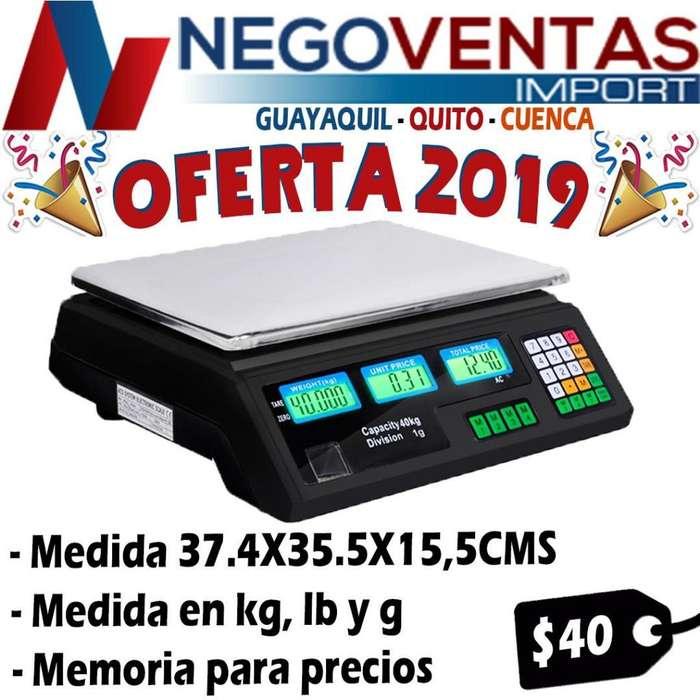 BALANZA DIGITAL COMPUTARIZADO DE OFERTA EN NEGOVENTAS