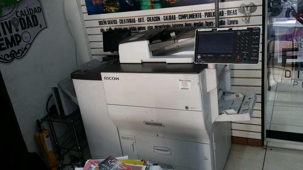 Impresora Ricoh C5110 con Finalizador