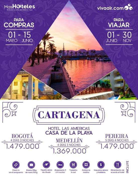 Gran Promoción para Cartagena con Incluí