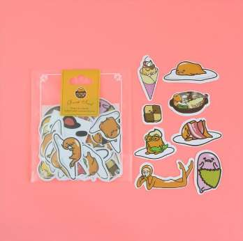 Stickers Gudetama Scrapbooking