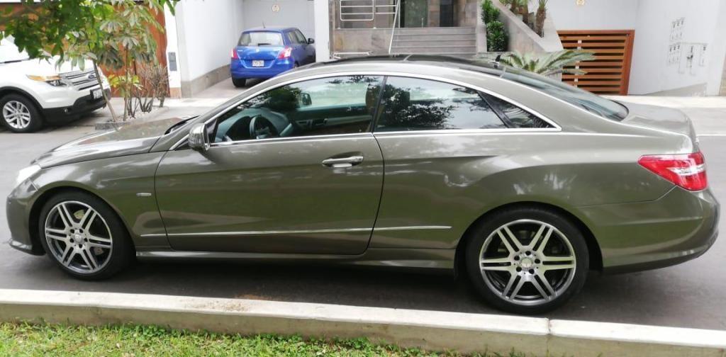 MERCEDEZ BENZ E250 COUPE 2012