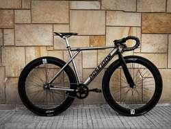 Bicicletas urbanas fixie Poseidon