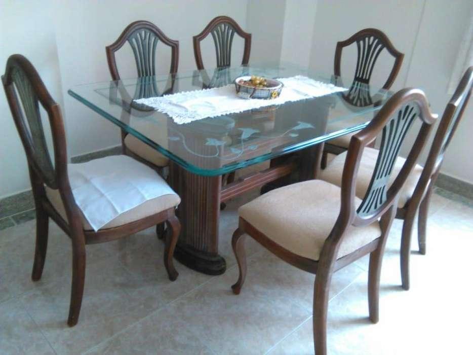 Comedor de seis puestos y mesa de centro inf 3153744011
