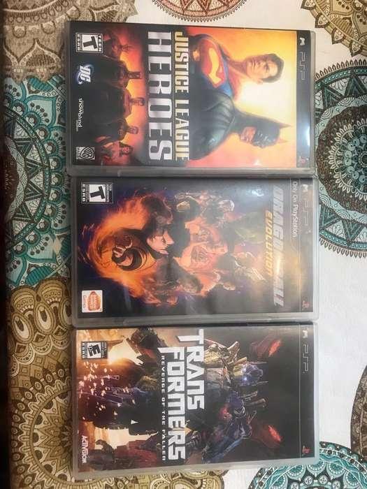 Combo Videojuegos de PSP