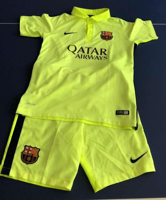 Conjunto de Barcelona Talla L de Niños