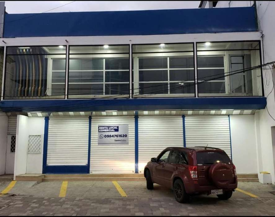 LOCAL COMERCIAL RENTA EN Av. 4 Nov MANTA