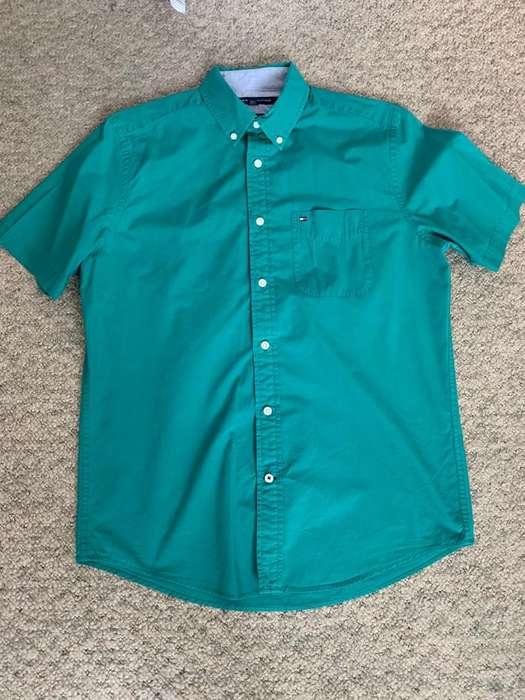 Camisa TOMMY HILFIGER, una sola puesta, Original