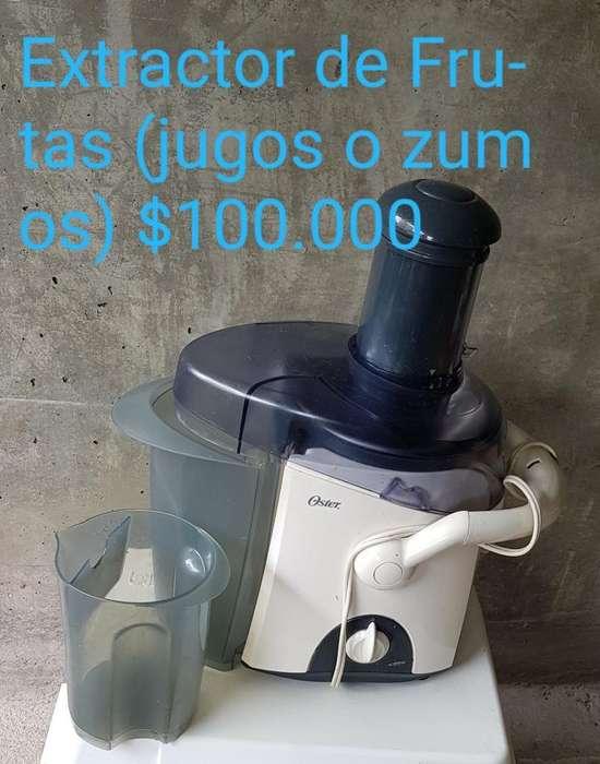 Extractor para Frutas (zumos Y Compotas)