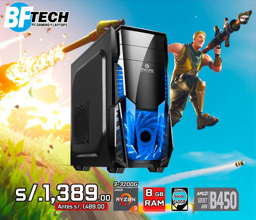 CPU GAMING RYZEN 3 3200G 3.6GHz 6