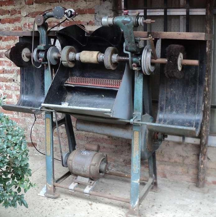 maquina de zapatero lijadora y lustradora, Paulina