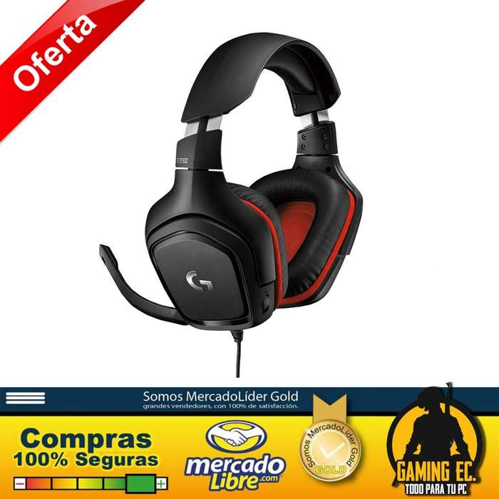 Logitech G332 Auriculares gaming para PC, PS4, Xbox One