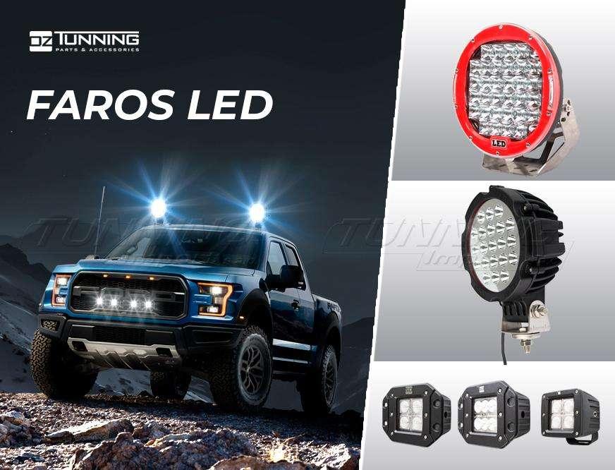 Barras LED Blanco - Barras RGB Multicolor/ Faros LED OZ Tunning - 240W, 180W, 120W