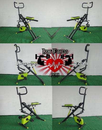 Total Crunch 2 EN 1 ORIGINAL piston12niv Bicicleta Magnetica 8niv