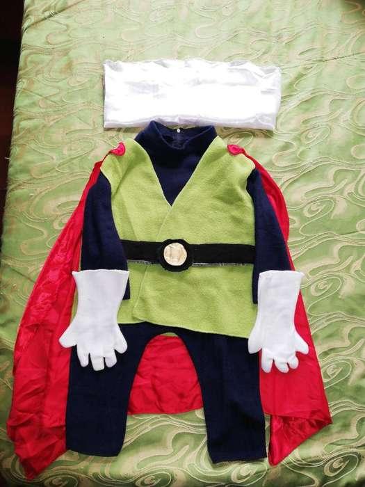 Disfraz de Gohan gran saiyaman