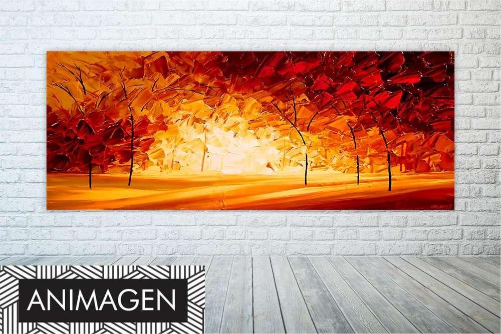 Cuadro decorativo tono otoño 2216