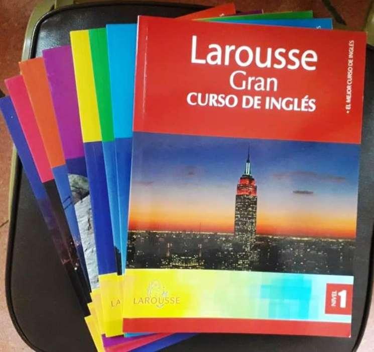 Juego completo de Libros de Inglés de la ed Larousse