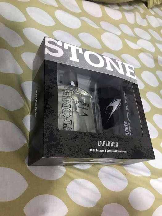 Perfume Y Desodorante Stone Nuevo