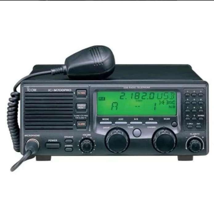 Radio Icom Ic-m 700 Pro Y Antena At-130