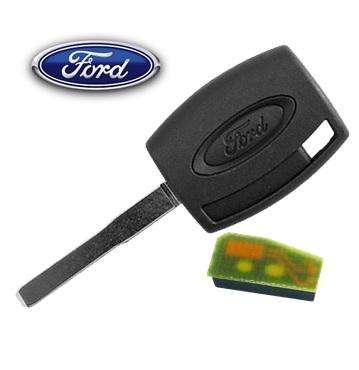 Llave Con Chip Para Ford Ranger Camioneta Focus Fiesta Transponder
